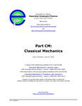 Part CM: Classical Mechanics
