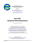 Part EM: Classical Electrodynamics